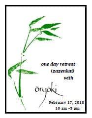 One-Day Retreat for Soji