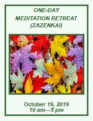 One Day Meditation Retreat Oct. 19th